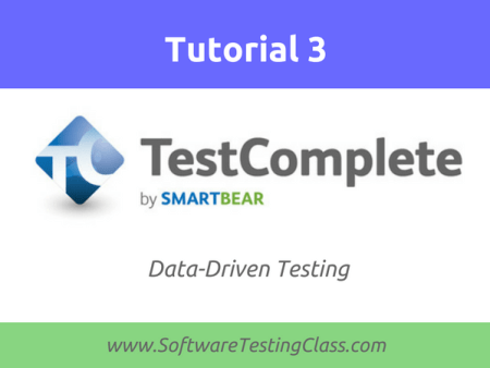TestComplete Data-Driven Testing