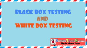 Black Box And White Box Testing | Definition And Types
