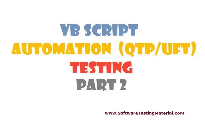 vbscript - part 2