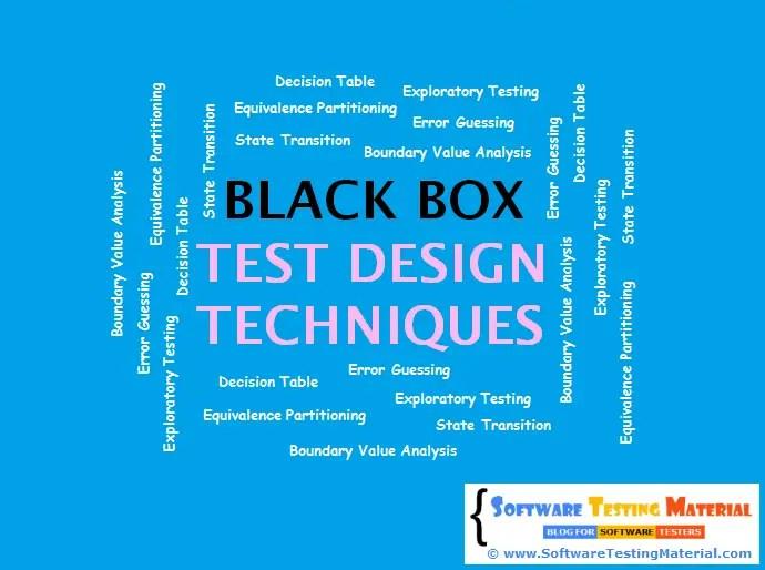 Black Box Test Design Techniques