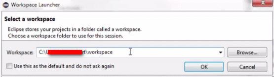 Install Eclipse - Choose Workspace