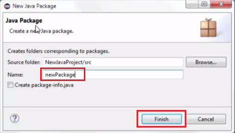 Install Selenium WebDriver - Create Package