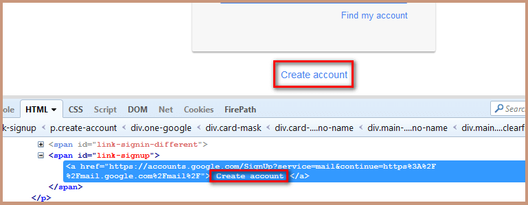 Locate Element By Link Text And Partial Link Text