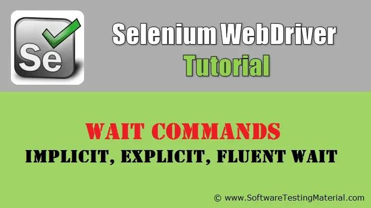 explicit wait in selenium