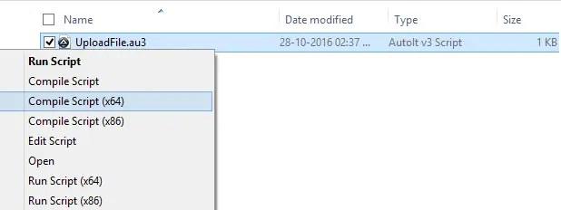 UploadFile Compile Autoit