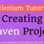 How To Create Selenium Maven Project In Eclipse IDE | Selenium Tutorial