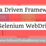 Data Driven Framework in Selenium WebDriver | Software Testing Material