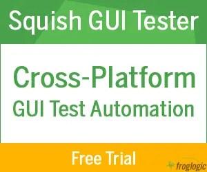 Froglogic-Squish-GUI-Tester