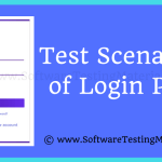 Test Scenarios Login Page [How To Write Test Scenarios of a Login Page] | SoftwareTestingMaterial