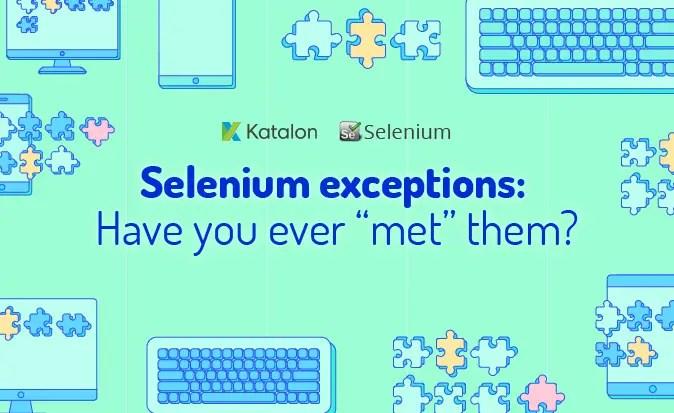 Selenium Exception