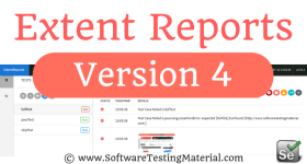 Extent Reports Selenium Version 4 – Software Testing Material