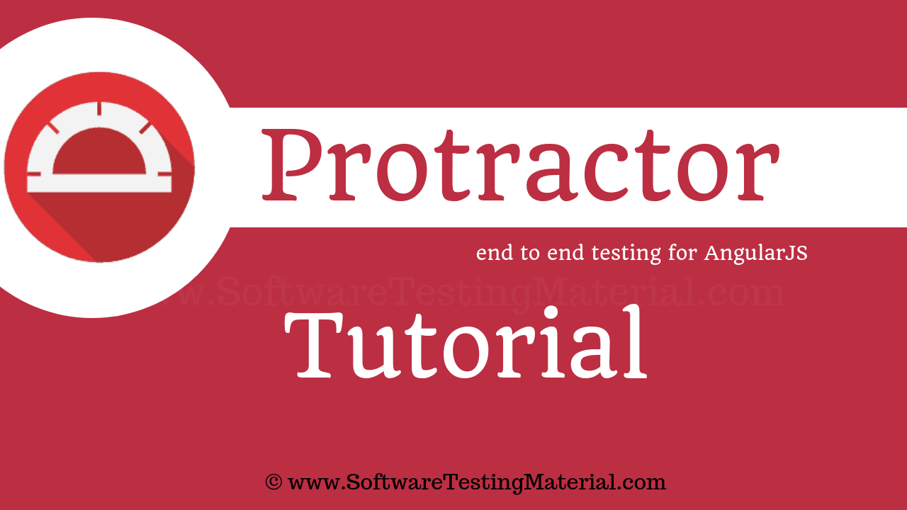 Protractor Testing Tutorial