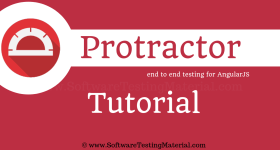 Protractor Testing Tutorial