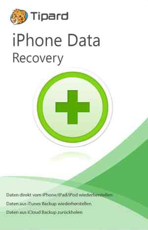 Tipard iPhone Data Recovery - Boxshot