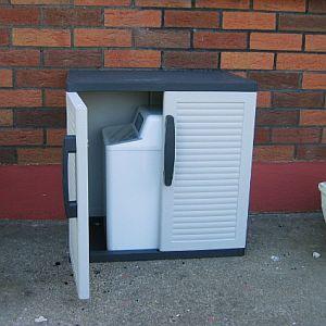 Water Softener: Eco Elite Water Softener on Outdoor Water Softener Enclosure  id=76042