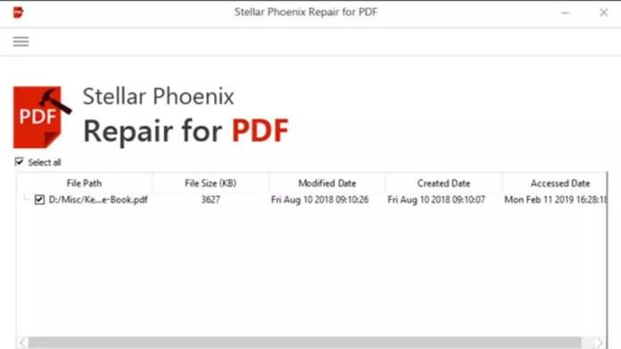 Stellar PDF Repair