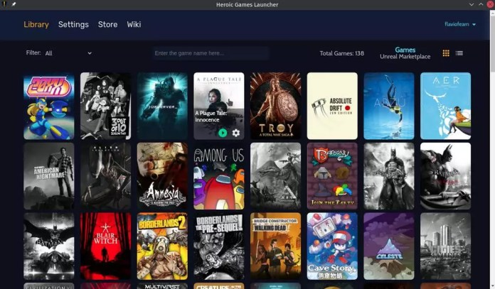 Heroic Games Launcher Library