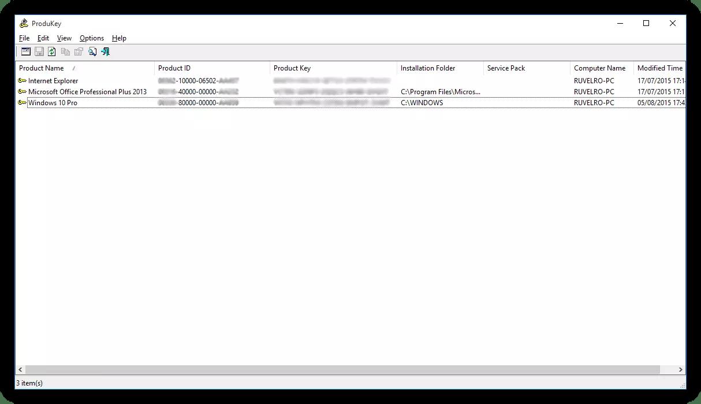 Recupera la clave de activación de Windows 10 y comprueba si