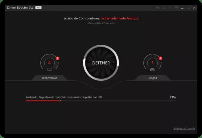 IObit Driver Booster 3 - Analizando controladores