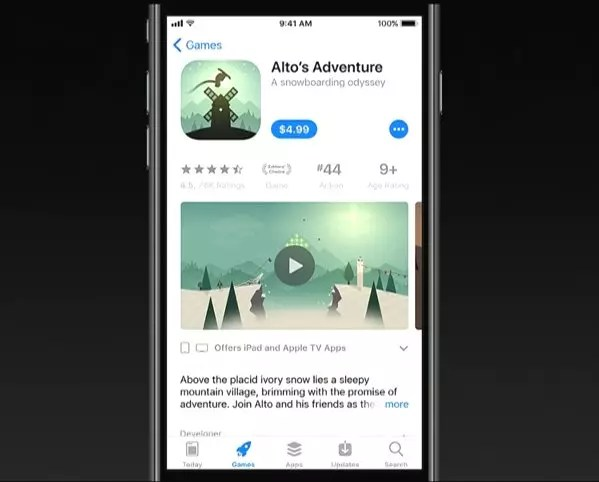 Nueva App Store iOS 11