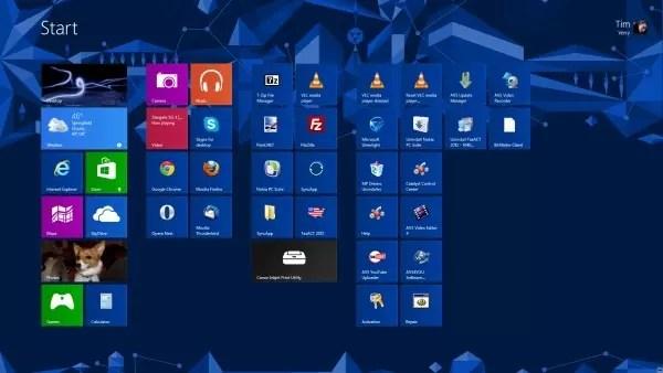 Windows 8.1, nuevas novedades 1