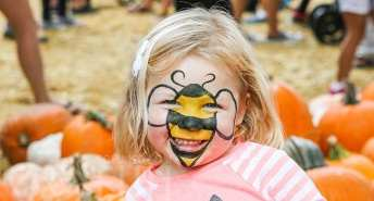 pumpkin-patch-cute-bee-painted-face