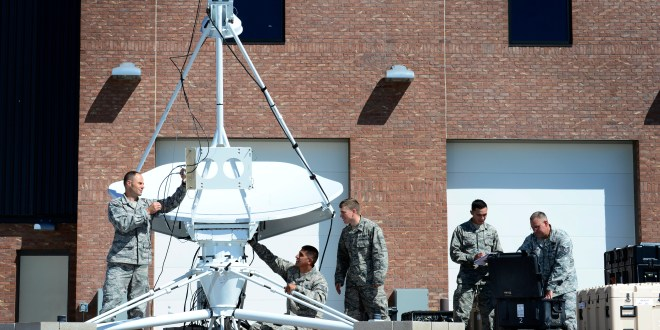 Space control Airmen ensure constant communication