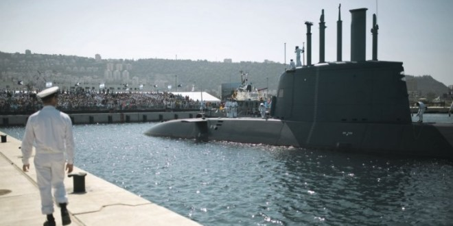 Israel's first Dolphin AIP sub arrives in Haifa