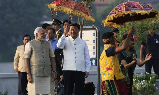 China's President Xi Jinping Talks Trade in India as Troops Face Off at Border