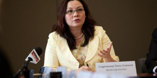 Rep. Tammy Duckworth pregnant; girl due in December