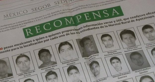 Mexico offers rewards for information on missing students