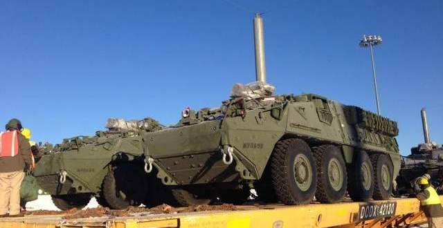 Army Waiting for Hill OK To Build Upgraded Strykers