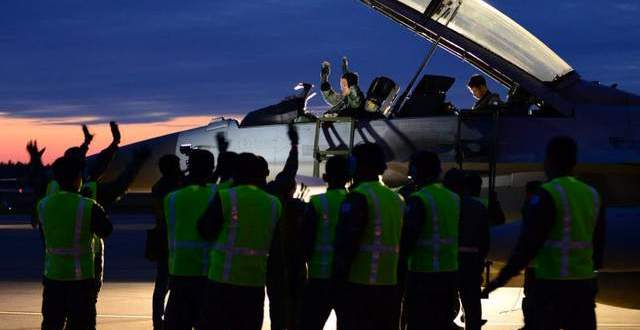 U.S., ROK fighters train together after snow delay at Red Flag-Alaska