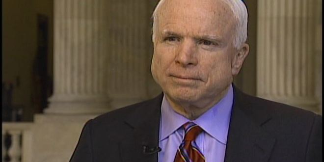 McCain wants Ernst on Armed Services panel