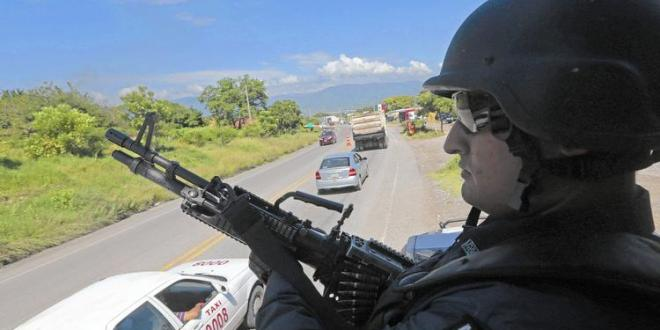 Mexico deploys federal forces to missing students' city
