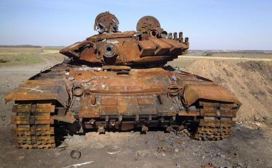 Exclusive: Charred tanks in Ukraine point to Russian involvement