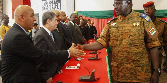 Coup leader in Burkina Faso received U.S. military training
