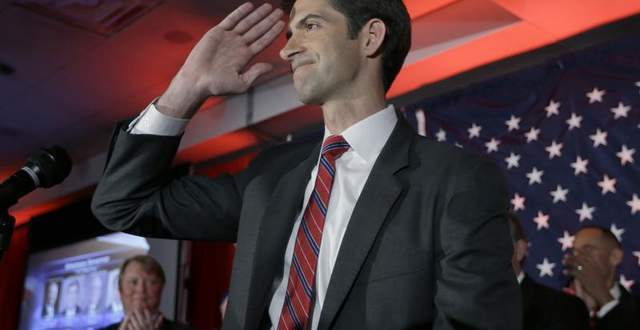 Army vet Tom Cotton elected to U.S. Senate