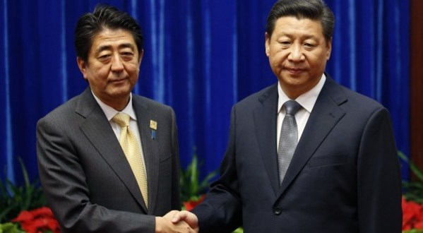 China and Japan leaders break ice with first meeting, but no sign of warmth