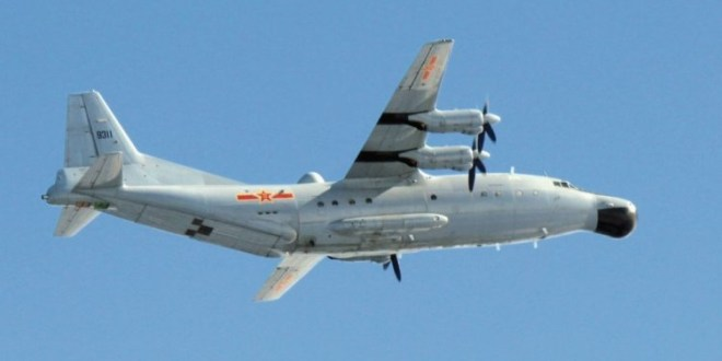 Chinese special mission aircraft cross Okinawa into West Pacific