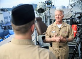 Interview: Vice Adm. Tom Rowden