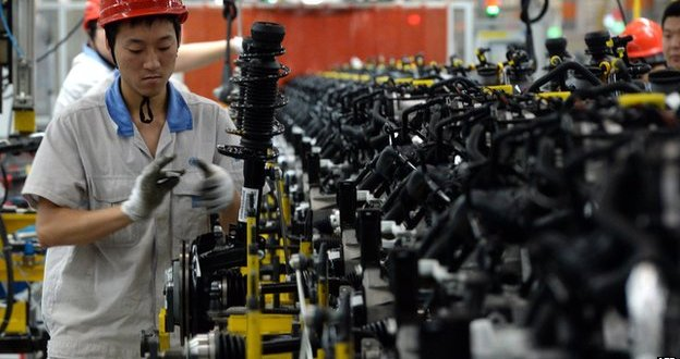 China's growth slows to weakest in 24 years