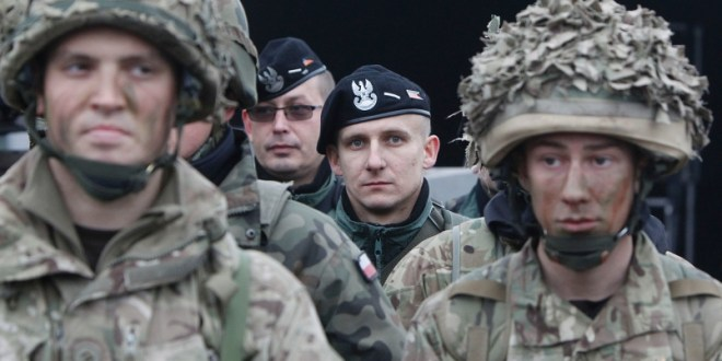NATO's priority in 2015: Setting up reaction force in Europe