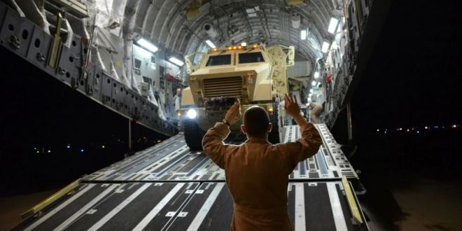US sending MRAPS to Somalia for African Union mission