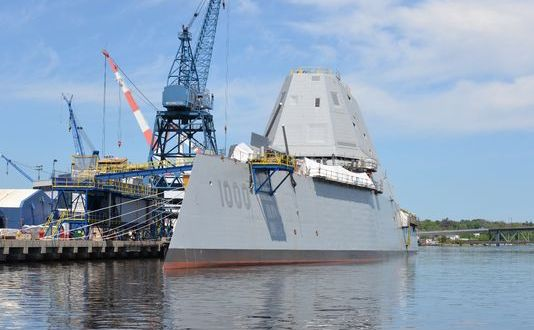 Delivery of First 2 Zumwalt DDGs Delayed