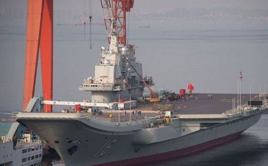 China Holds Man Who 'Sold 500 Aircraft Carrier Images'