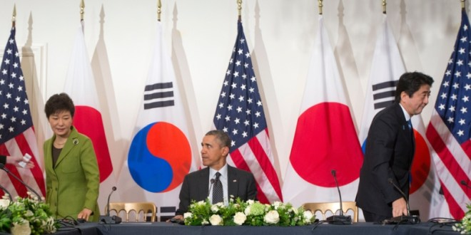 Angst among allies: Japan-South Korea rift complicates Pacific pivot