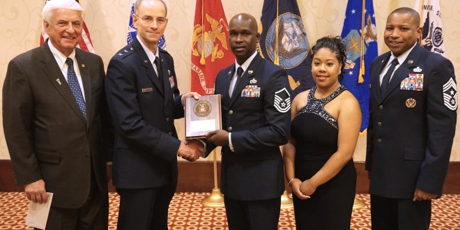 45th CES member receives GEICO Military Service Award