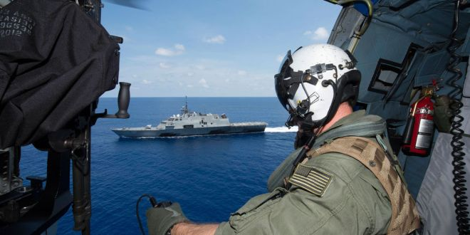 U.S. Navy Ship Met Chinese Vessel on South China Sea Patrol