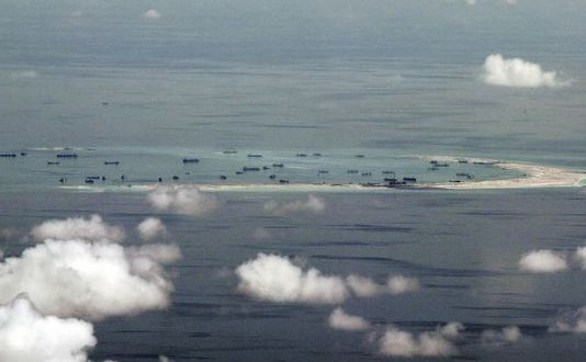 Philippines seeks U.S. help in stopping China land reclamation